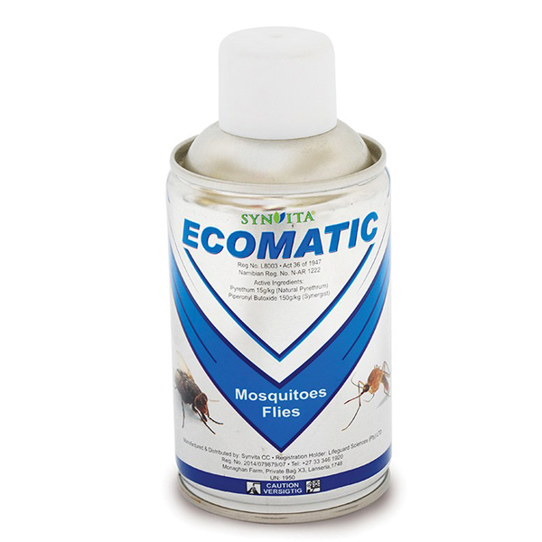Ecomatic Mosquitoes & Flies 280ml