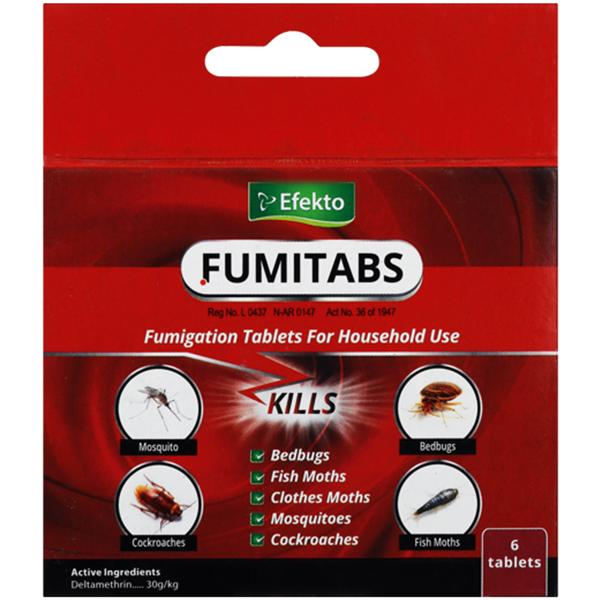 FUMITABS 6 Tablets