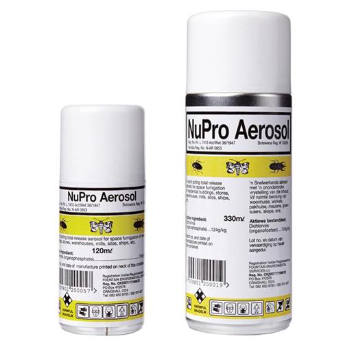 NuPro Aerosol 120ml & 330ml