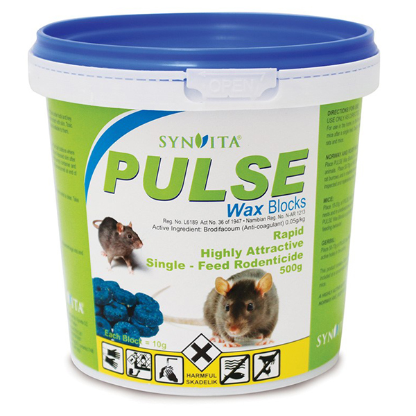 PULSE Wax Blocks 500g