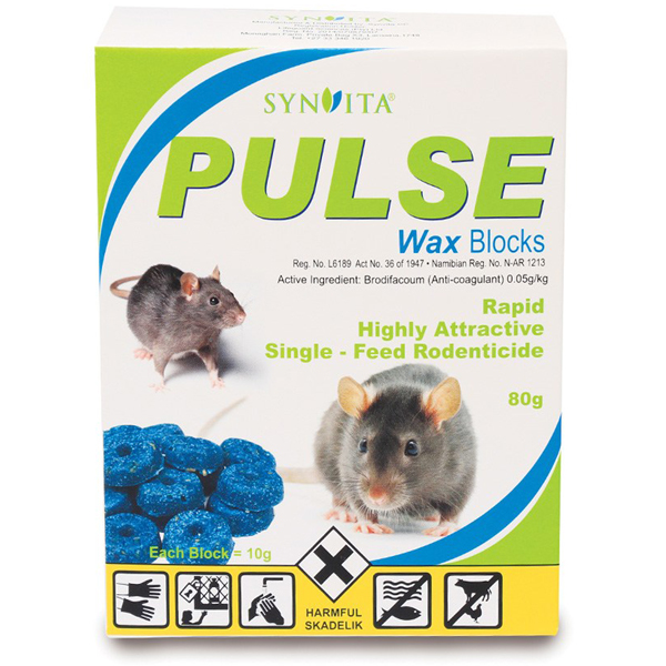 PULSE Wax Blocks 80g