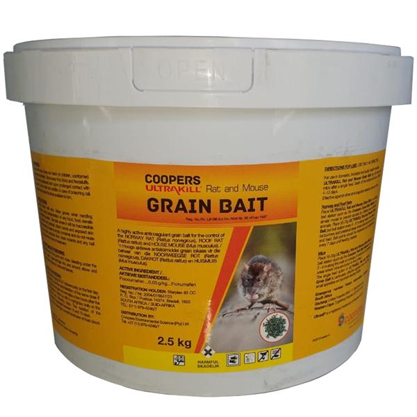 ULTRAKILL Rat & Mouse Grain Bait 2.5kg