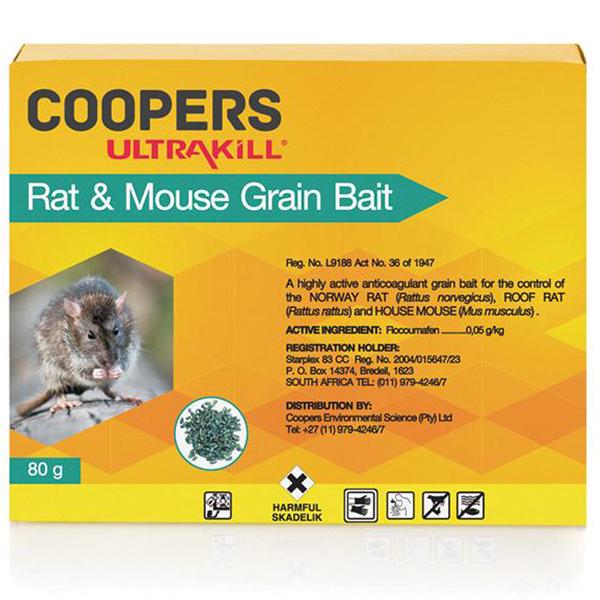 ULTRAKILL Rat & Mouse Grain Bait 80g