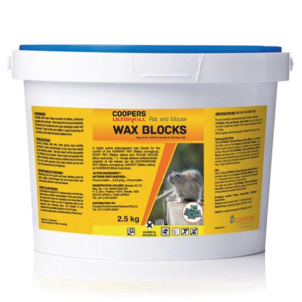ULTRAKILL Rat & Mouse Wax Blocks 2.5kg