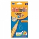 BIC Tropicolors2 Colouring Pencils Full Length 12 Pack