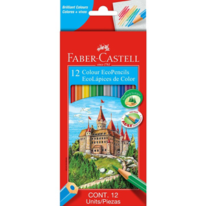Faber-Castell Colour EcoPencils Full Length 12 Pack