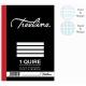 Treeline 1 Quire A4 Hard Cover Feint & Margin Counter Book