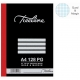 Treeline 128 Page A4 Hard Cover Quad & Margin Counter Book