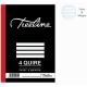 Treeline 4 Quire A4 Hard Cover Feint & Margin Counter Book