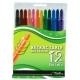 Treeline Roll-UP's Retractable Wax Crayons 12 Pack