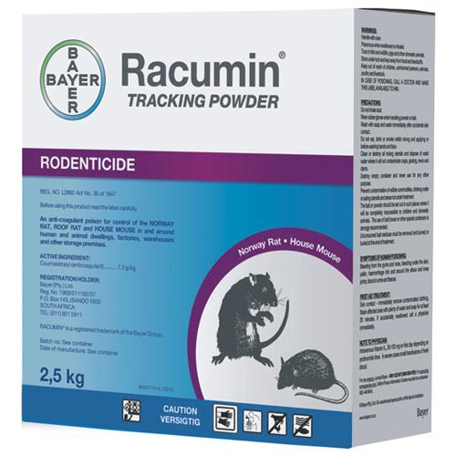 Racumin Tracking Powder 2.5kg